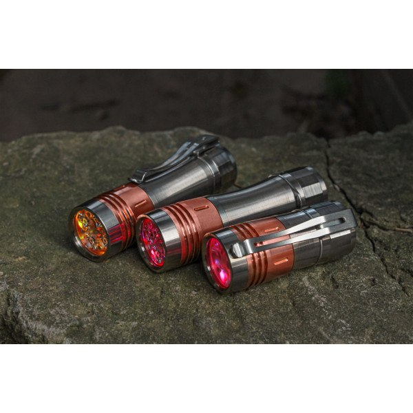 Noctigon KR4 Ti+Copper Tail E-Switch 18650 EDC Flashlight