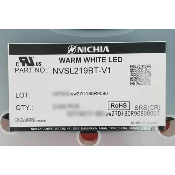 Nichia 219B SW27/SW35/SW45K R9080 BARE LED
