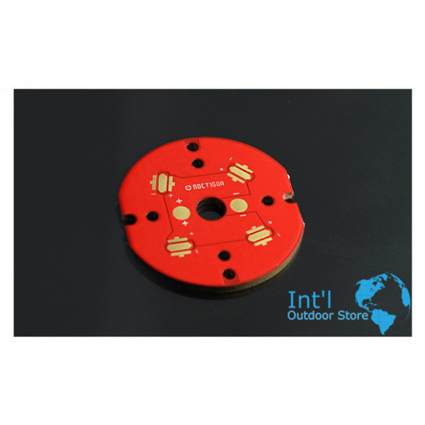 NOCTIGON 4XP 33mm 4P QUAD LED COPPER MCPCB (1 PC)