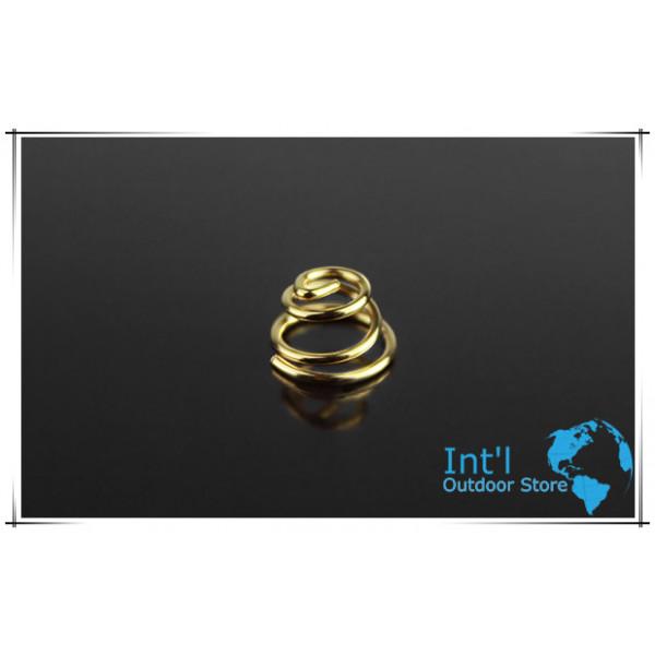 Gold Plated Beryllium Copper Spring (5 pcs)