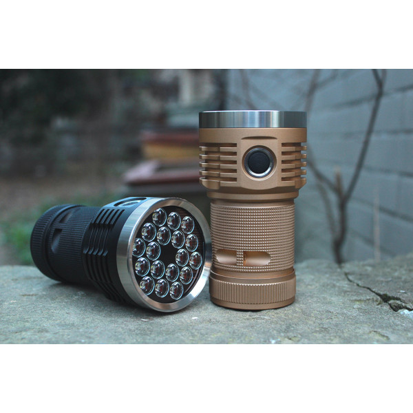 Emisar D18, 3*18650, 14000lm flashlight