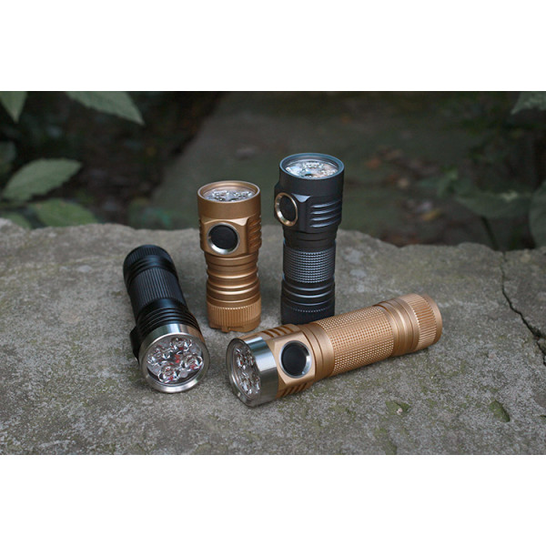 Emisar D4V2 E21A High CRI EDC 18650 FLASHLIGHT