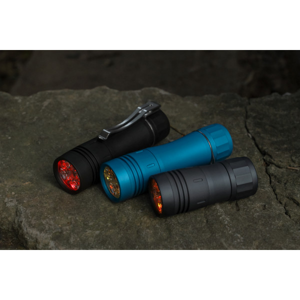 Noctigon KR4 QUAD TAIL E-SWITCH 18650 EDC LED FLASHLIGHT
