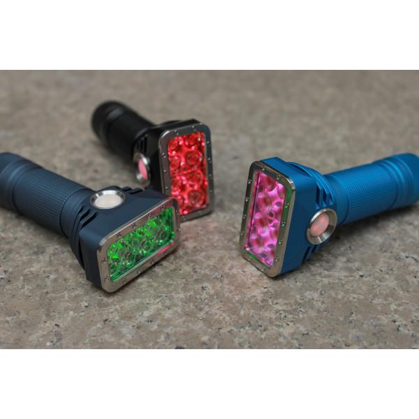 Emisar DT8 Dual Quad 18650 LED Flashlight